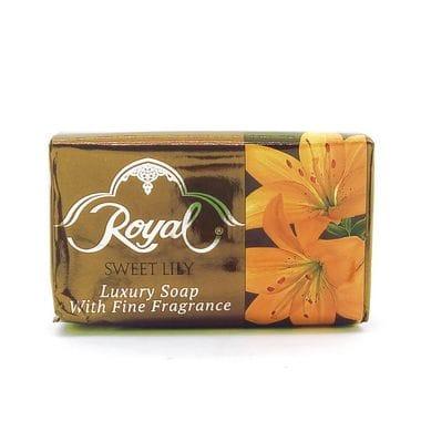 Купить Мыло Royal Sweet Lily (Сладкая Лилия) - королевское мыло Royal, ОАЭ, 125 гр