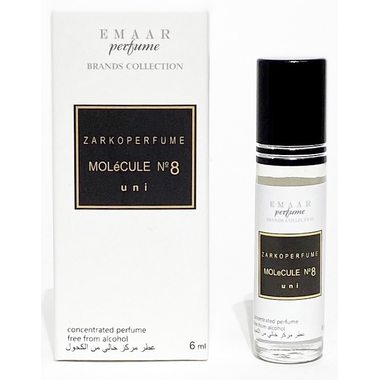 Купить MOLéCULE No. 8 Zarkoperfume EMAAR perfume 6 ml