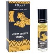 African Leather Memo Paris EMAAR perfume 6 ml