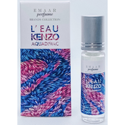L'eau KENZO aquadisiac for women EMAAR perfume 6 ml
