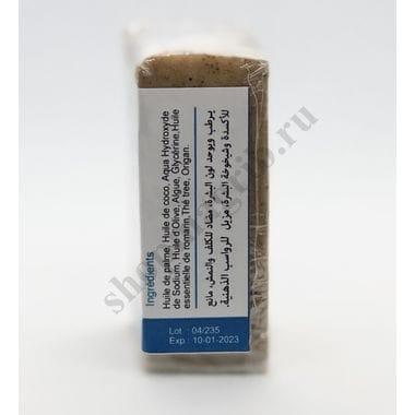 Купить Марокканское мыло c арганой и водорослями с добавлением оливкового и эфирных масел,без парфюма и красителей. Очищает и увлажняет/Savon d'argan Aus Algues 100гр