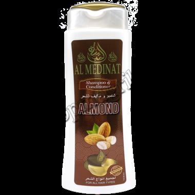 Купить Шампунь для волос AL MEDINAT на основе  миндального масла 400 мл