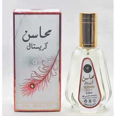 Купить Духи спрей Ard Al Zaafaran - Mahasin crystal/Махасин Кристал 50 мл женский