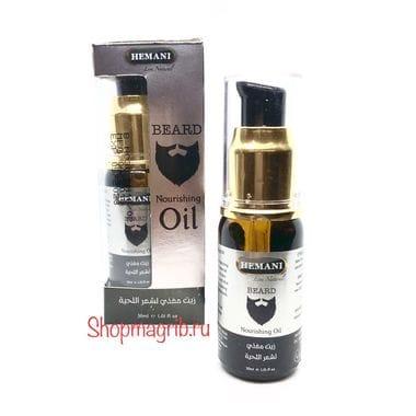 Купить Масло для ухода за бородой /Hemani Beard Nourishing Oil 30 мл.