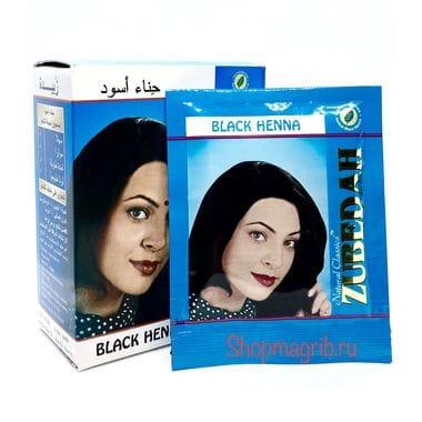 Купить Хна черная цена за 1 пакетик (10гр) Zubedah Black Henna