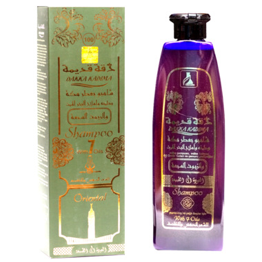 Купить DAKKA KADIMA 540ml Шампунь №100 с 7 масел,для жирных и хрупких волос,оберегает от вредных погодных условий