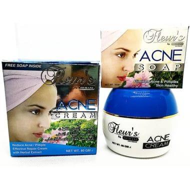 Купить Крем для лица против акне / Hemani Fleur's Acne Cream 80gm