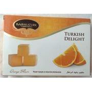 Рахат лукум со вкусом апельсина 250гр BARAKA TUNIS