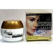 Крем антивозрастной Hemani Fleurs ANTI WRINKLE& ANTI AGING cream (c жемчужиной) 80 gm
