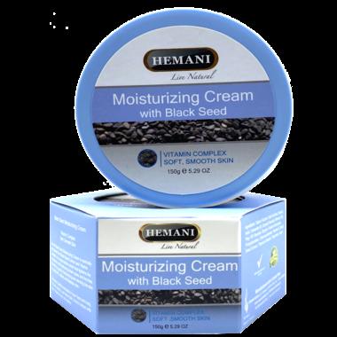 Купить HEMANI Moisturizing Cream with Black Seed / Крем увлажняющий с черным тмином, 150 гр.