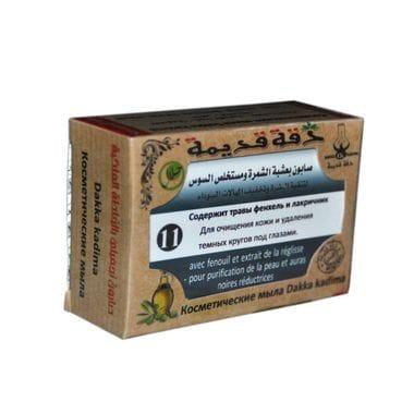 Купить Косметические мыла Dakka Kadima №11, травы фенхель и лакричник 100гр