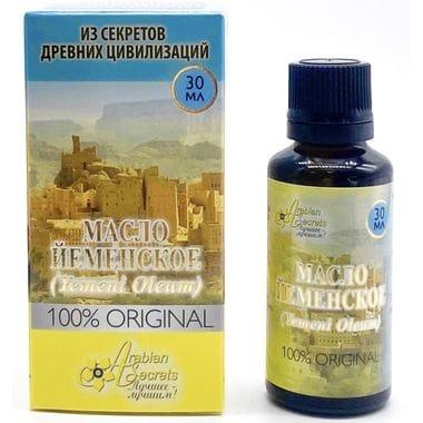 Купить МАСЛО ЙЕМЕНСКОЕ (YEMENI OLEUM) 100% ORIGINAL 30 МЛ