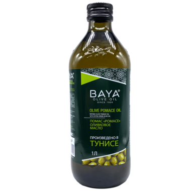 "Купить Оливковое масло POMACE OLIVE OIL / ПОМАС ""BAYA"", 1Л"
