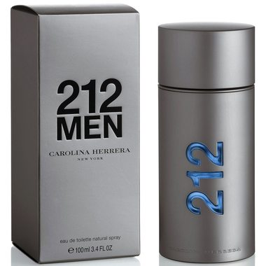Купить Carolina Herrera 212 MEN - цена за 3 мл