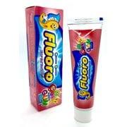 """Детская зубная паста-гель """"Fluoro"""" вкус жевательной резинки, 50гр"""