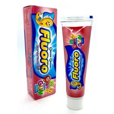 """Купить Детская зубная паста-гель """"Fluoro"""" вкус жевательной резинки, 50гр"""
